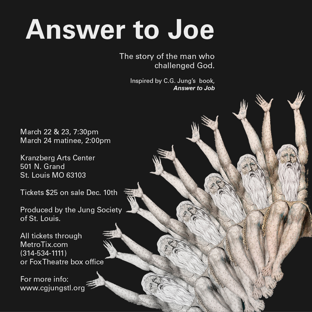 Jung Society Of St Louis Presents Answer To Joe Kranzberg Arts