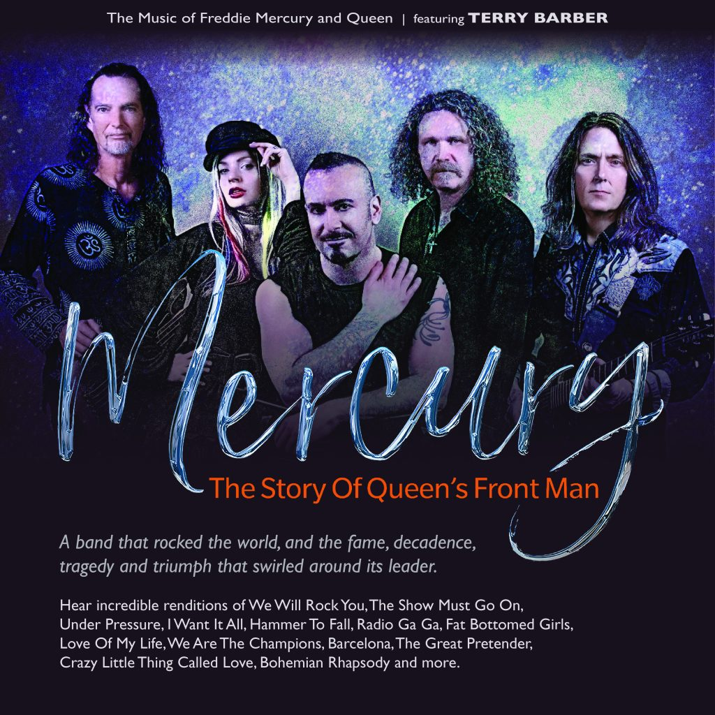 Mecury - The Music of Freddie Mercury and Queen Featuring