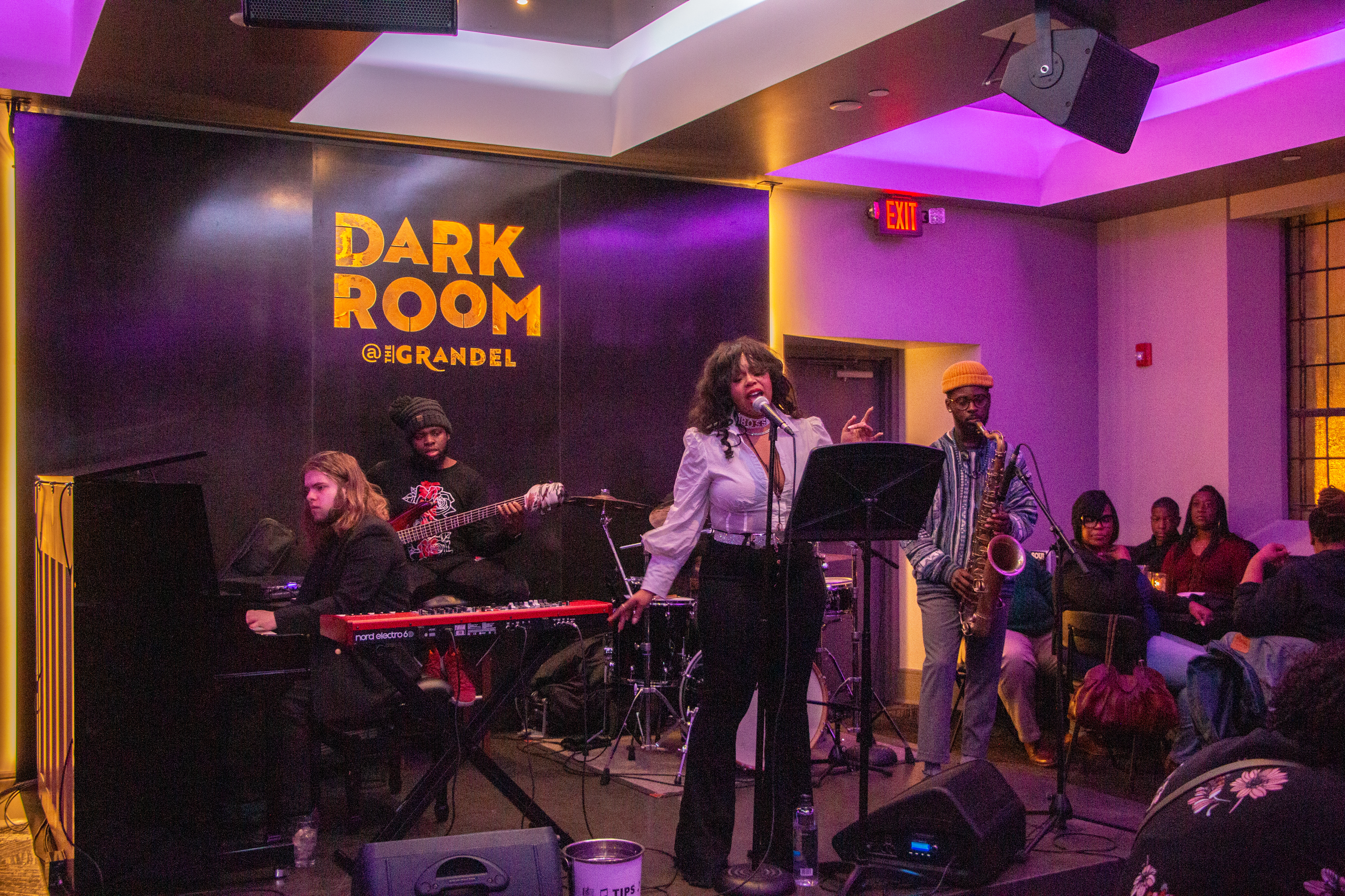 Be.Be and the NeoSouls perform at The Dark Room, Feb. 28, 2020