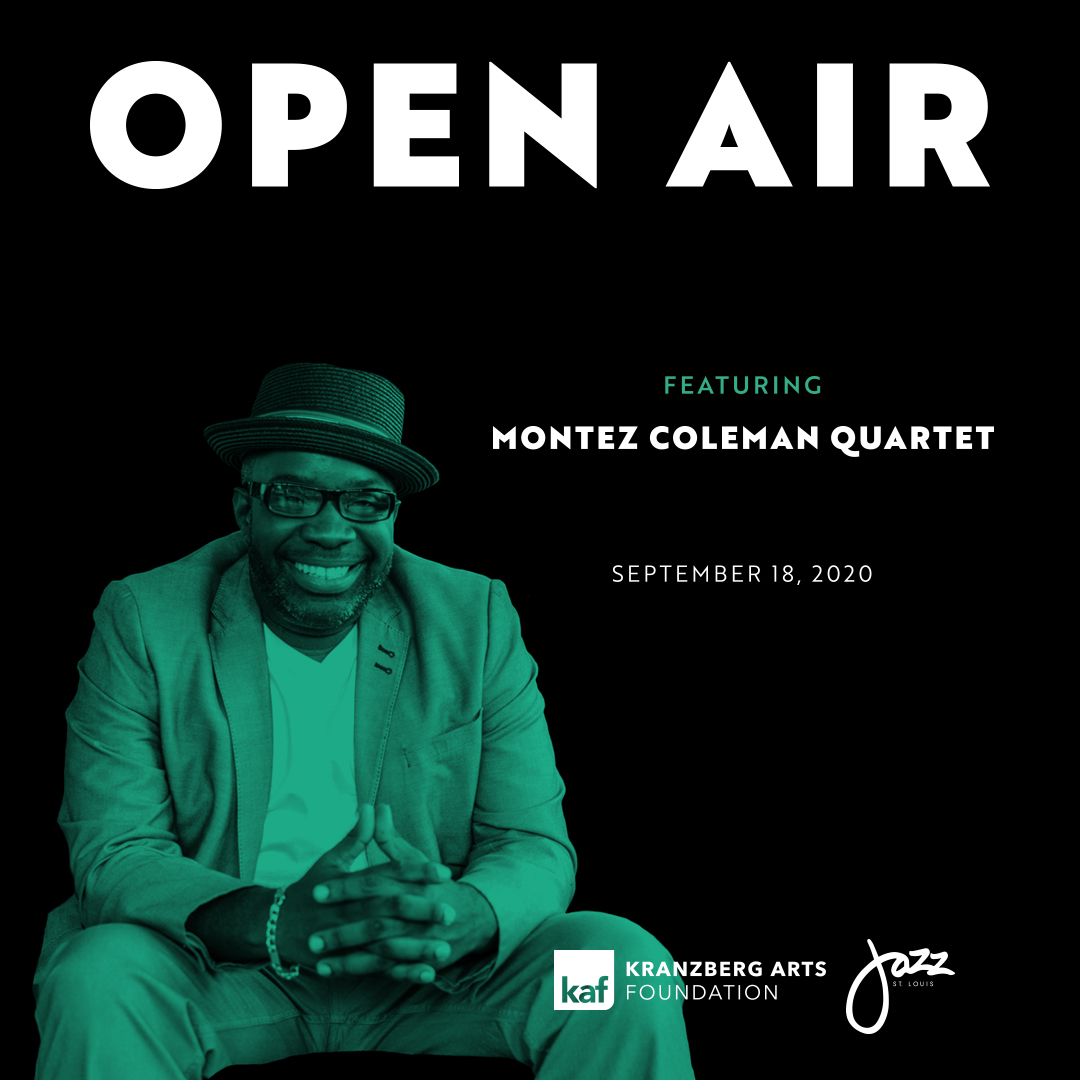 Open Air ft. Montez Coleman Quartet on Sept. 18, 2020 outside The Grandel