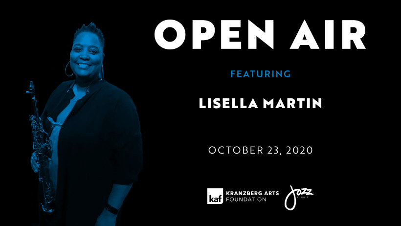 Open Air ft. Lisella Martin on Oct. 23, 2020, outside The Grandel in Grand Center, St. Louis, MO